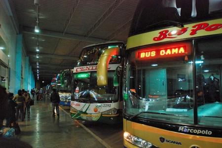 bus terminal in Bolivia