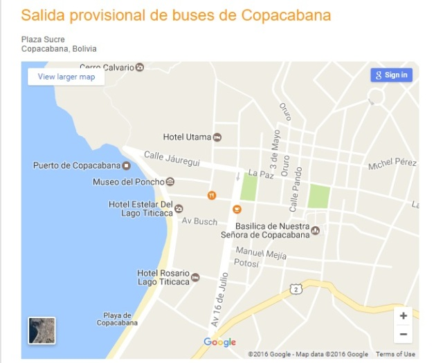 terminal terrestre de copacabana