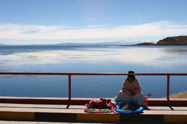 Lake Titicaca, Peru-Bolivia Border
