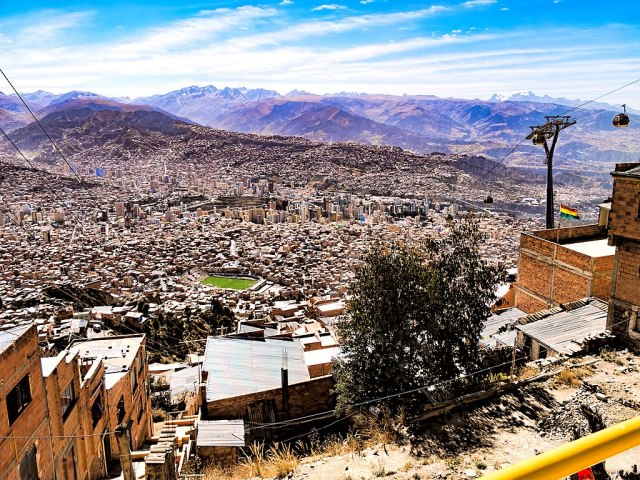 View of La Paz from El Alto