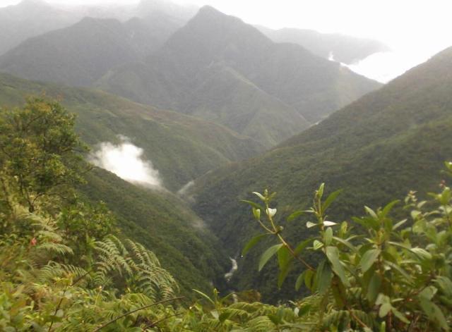 Choro trail, Bolivia