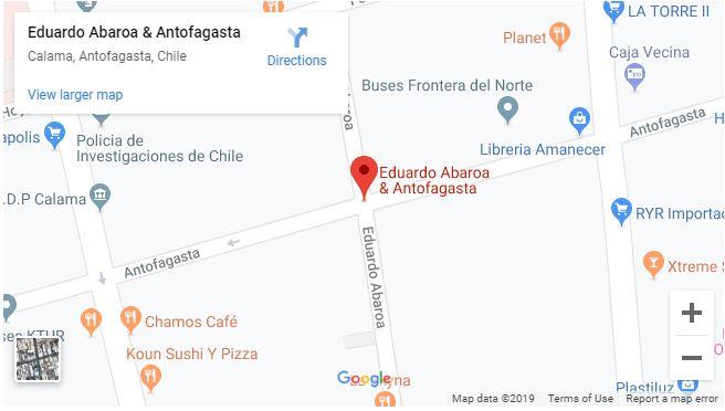 Cruz del Norte office in Calama