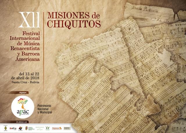 afiche festival chiquitos